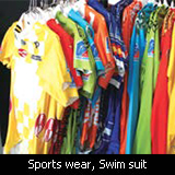 Sports wear, Swim suit
